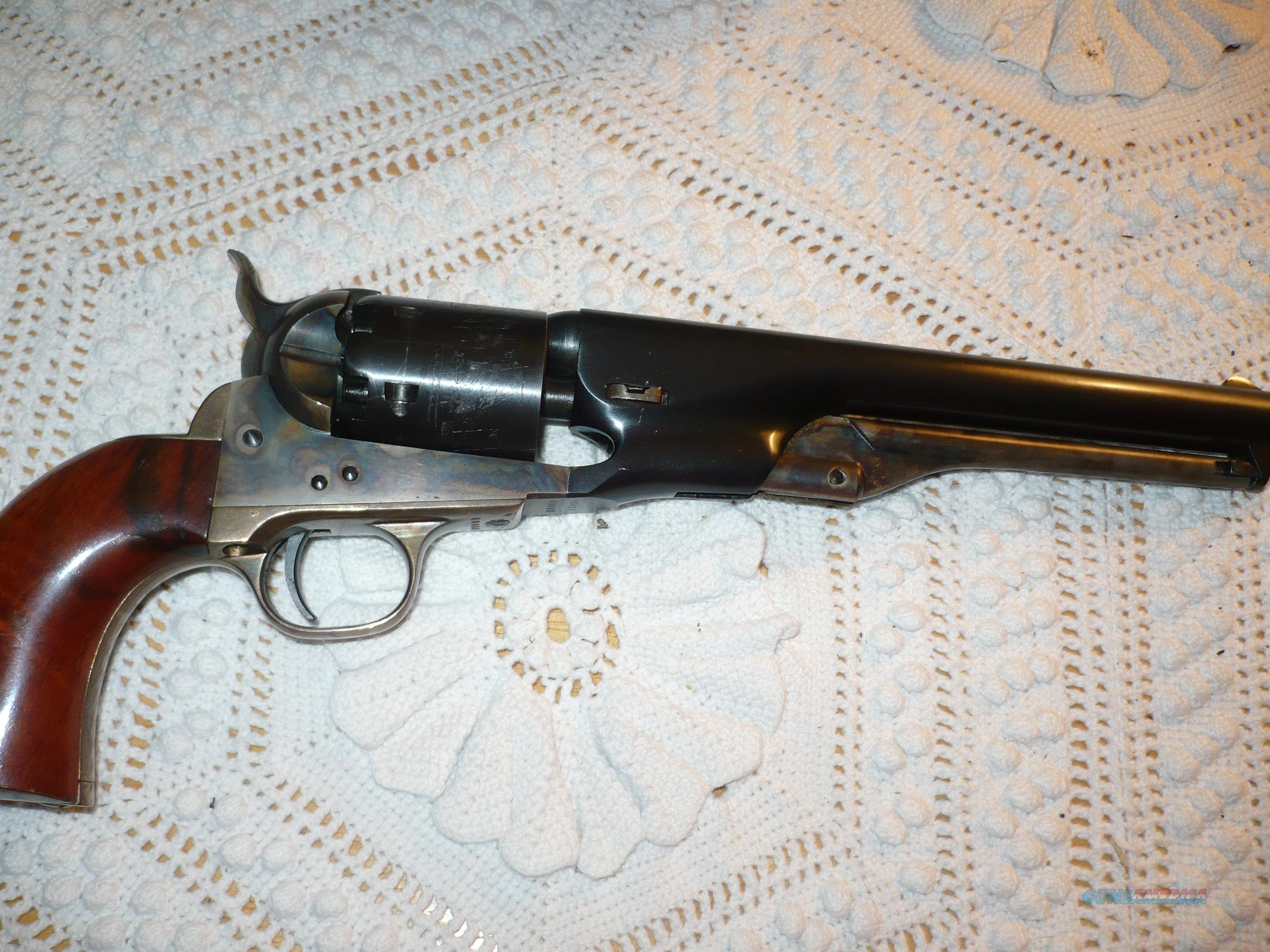 COLT MODEL 1861 NAVY SECOND GENERATION  Guns > Pistols > Colt Double Action Revolvers- Modern