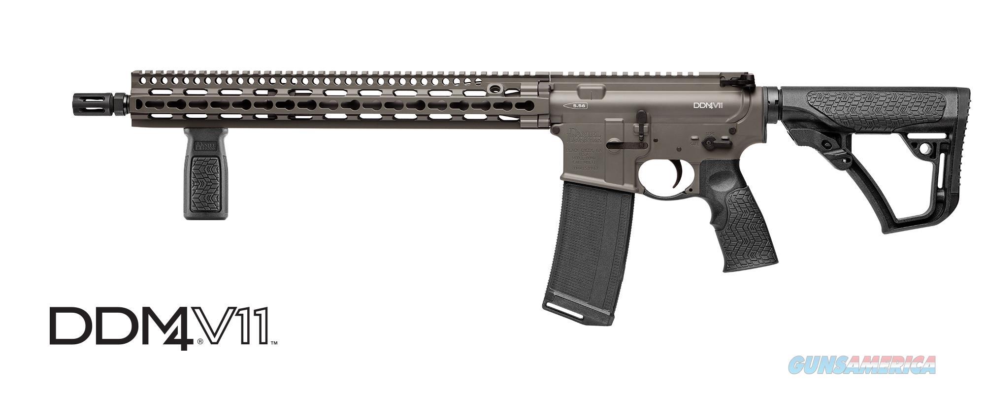 "Daniel Defense M4 V11 16"" DEEPWOODS Cerakote 02-151-10240-047  Guns > Rifles > Daniel Defense > Complete Rifles"
