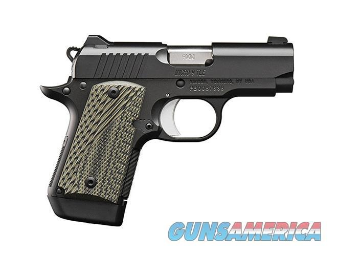 New from Kimber! Micro 9 TLE Night Sights 9mm Pistol 3300191  Guns > Pistols > Kimber of America Pistols