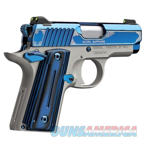 GORGEOUS... KIMBER MICRO SAPPHIRE 9mm Brand New, In Stock and ready to ship  Guns > Pistols > Kimber of America Pistols > Micro 9