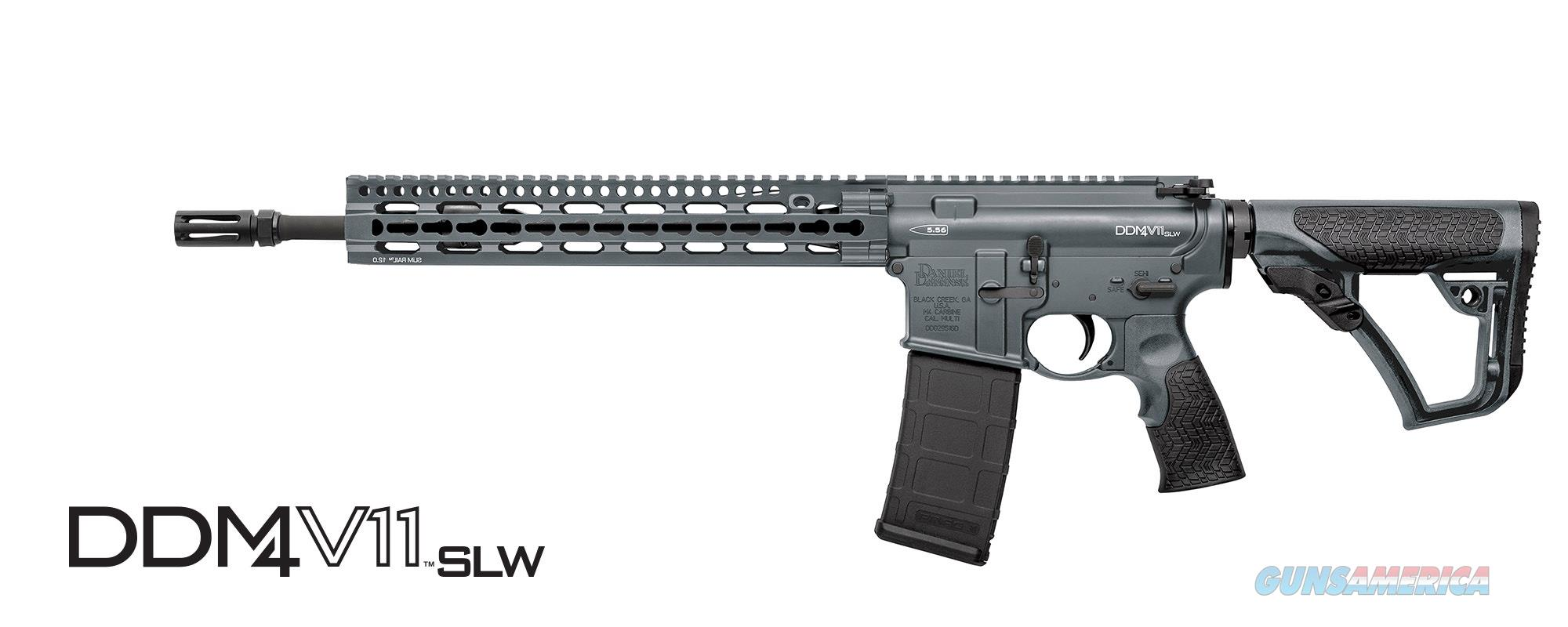 RARE in hard to get color! DANIEL DEFENSE M4 CARBINE V11 LW SLW TORNADO GREY  Guns > Rifles > Daniel Defense > Complete Rifles
