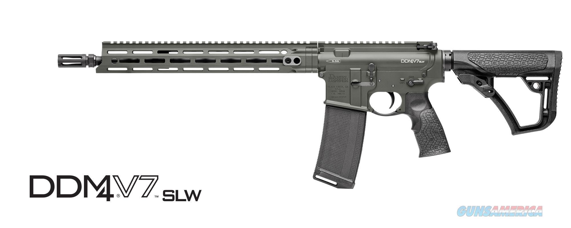 New Model! Daniel Defense V7 SLW in DEEPWOODS Cerakote - IN STOCK NOW!  Guns > Rifles > Daniel Defense > Complete Rifles