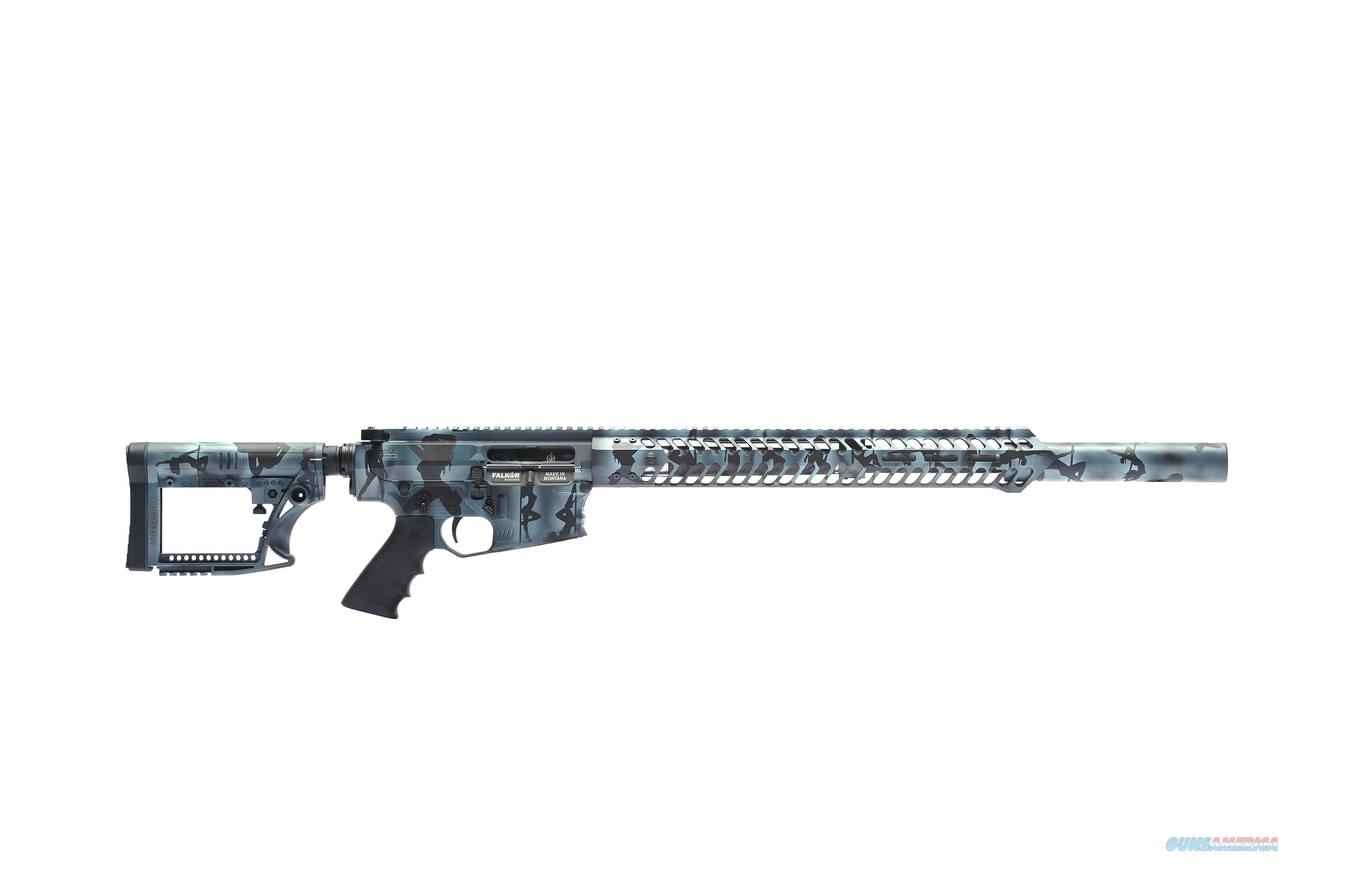 "Custom ""Stripper Camo"" Falkor Breacher .308 / 7.62mm Rifle - New and Awesome!  Guns > Rifles > F Misc Rifles"