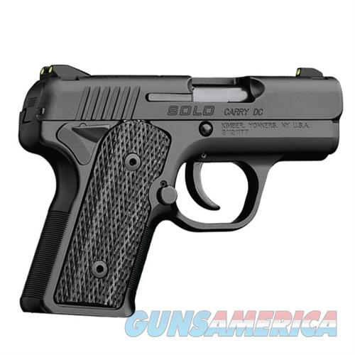 Kimber Micro 9 Stainless Dn Tfx Pro Sight Hogue: Hard To Find! Kimber Solo Carry DC 9mm Pistol 3... For Sale