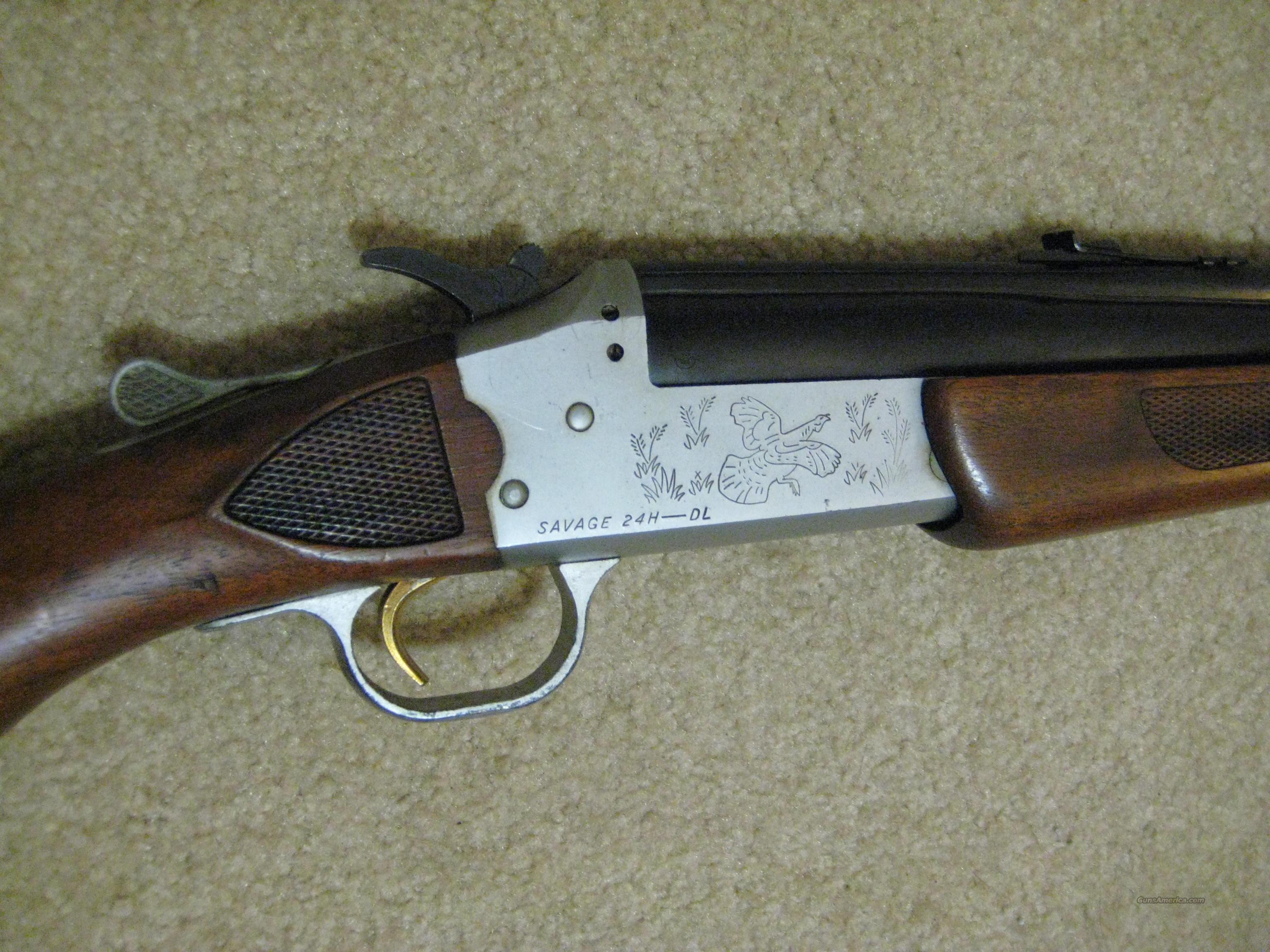 Savage 24H-DL .22 Magnum/.410 over/under  Guns > Rifles > Savage Rifles > Other
