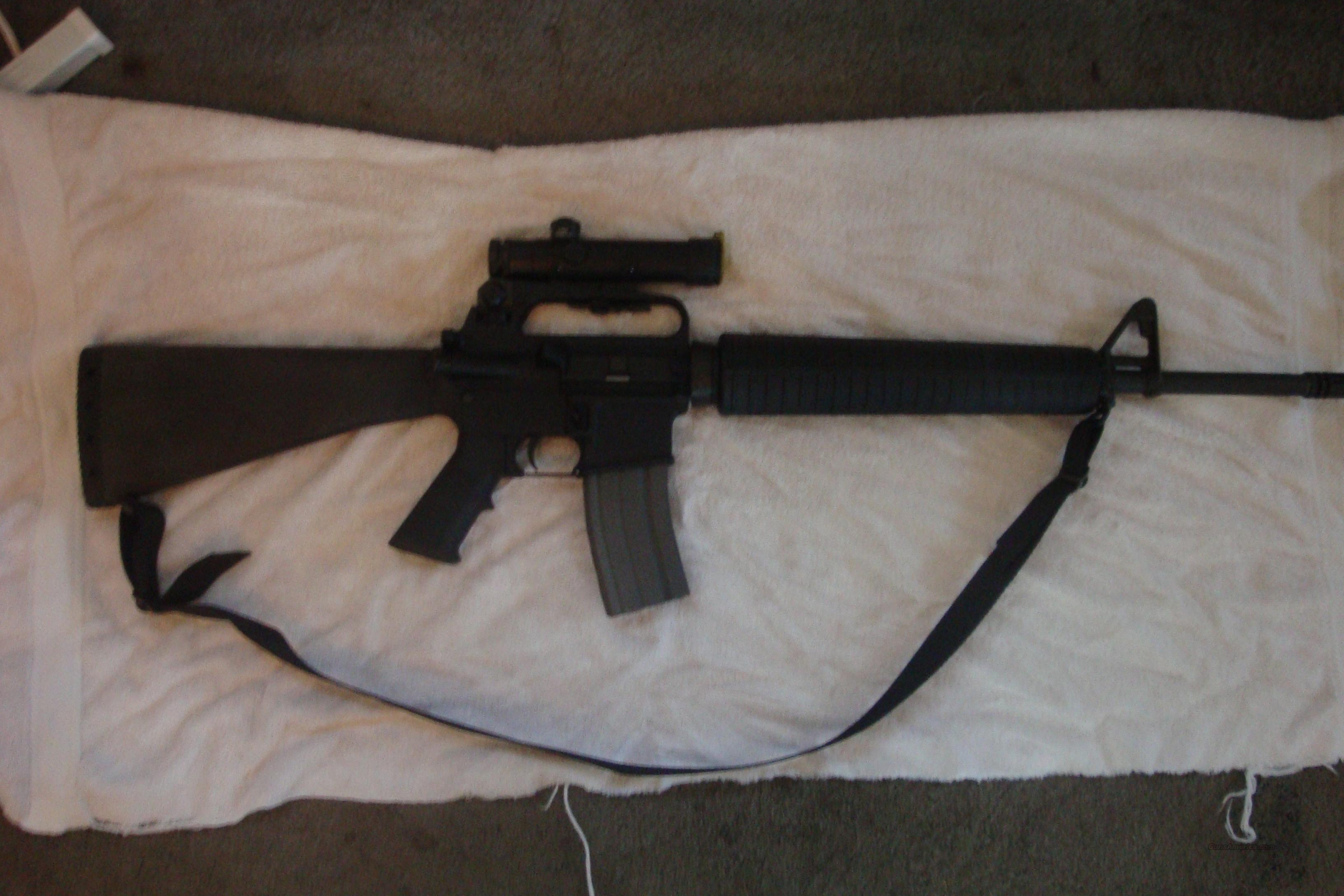 Colt AR 15 match target H-bar  Guns > Rifles > Colt Military/Tactical Rifles