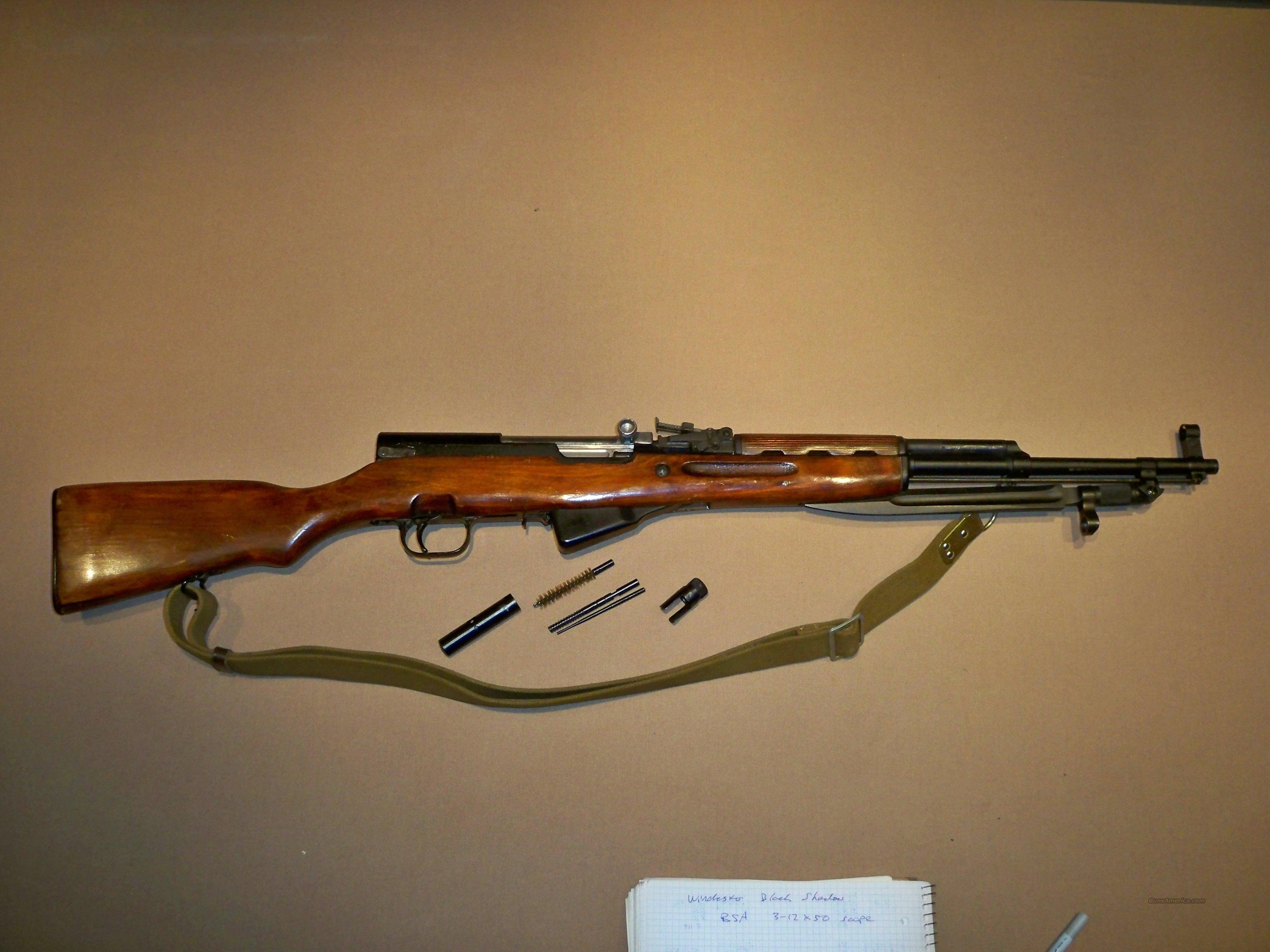 1954 Tula Russian SKS with all accessories  Guns > Rifles > SKS Rifles