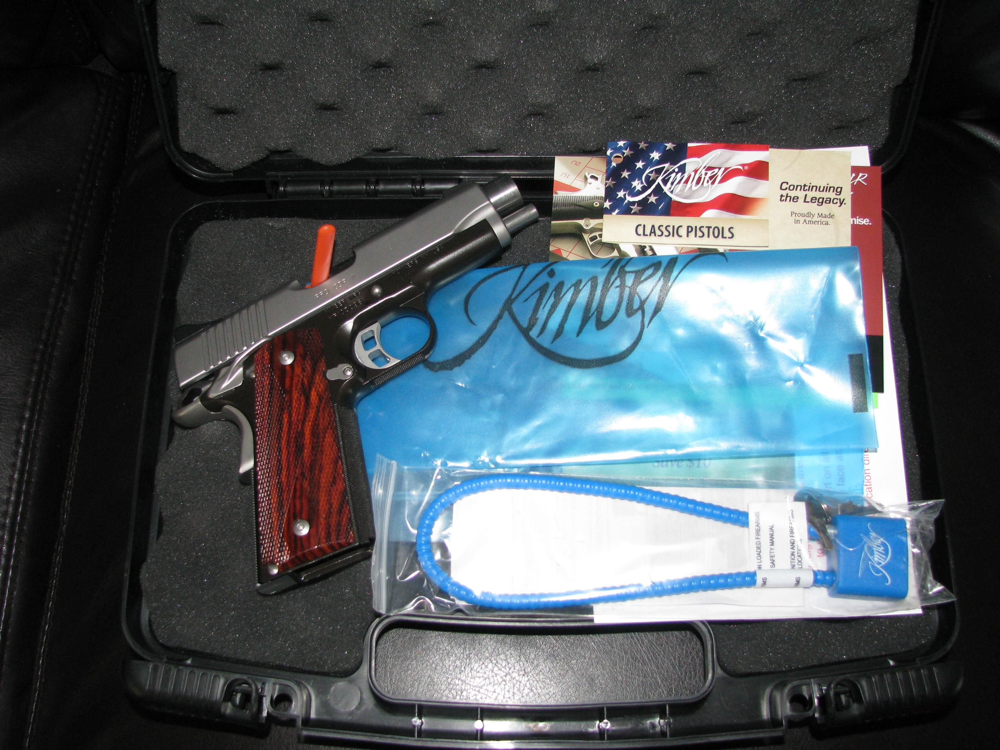 Slightly Used Kimber 1911 PRO CDP II  Guns > Pistols > Kimber of America Pistols