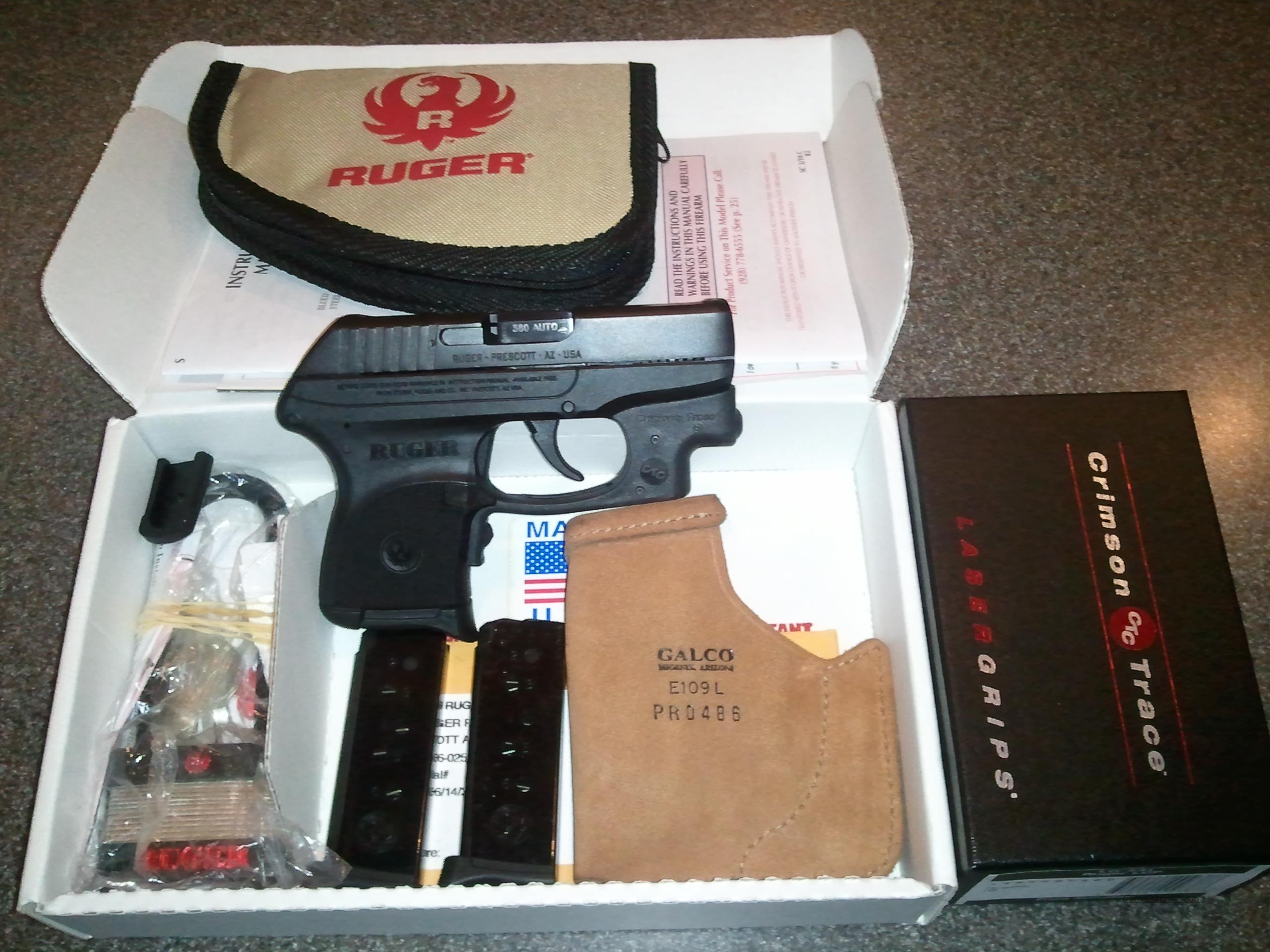 Ruger LCP w/Crimson Trace Laser  Guns > Pistols > Ruger Semi-Auto Pistols > LCP