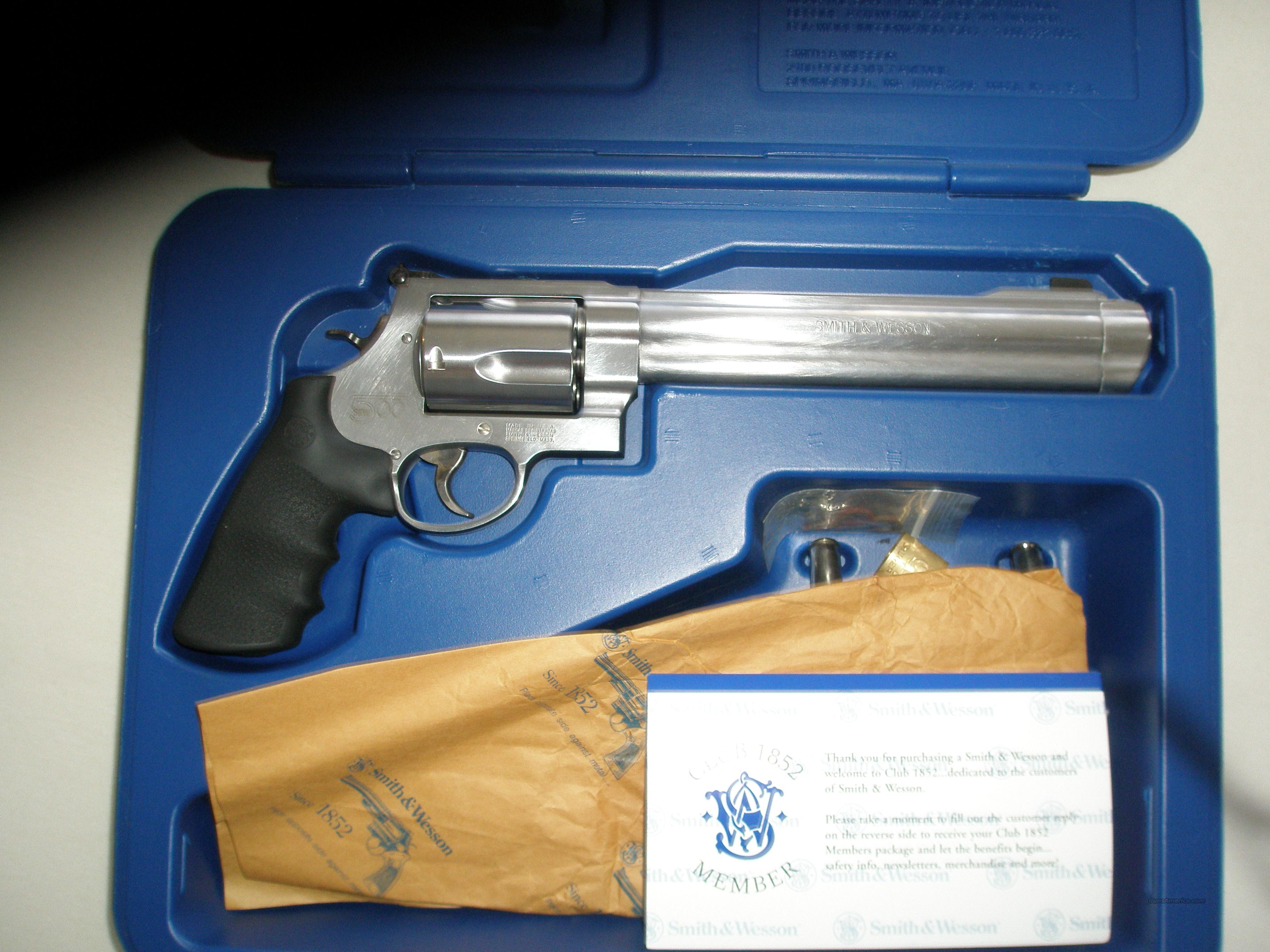 Smith and Wesson 500 Mag  Guns > Pistols > Smith & Wesson Revolvers > Performance Center