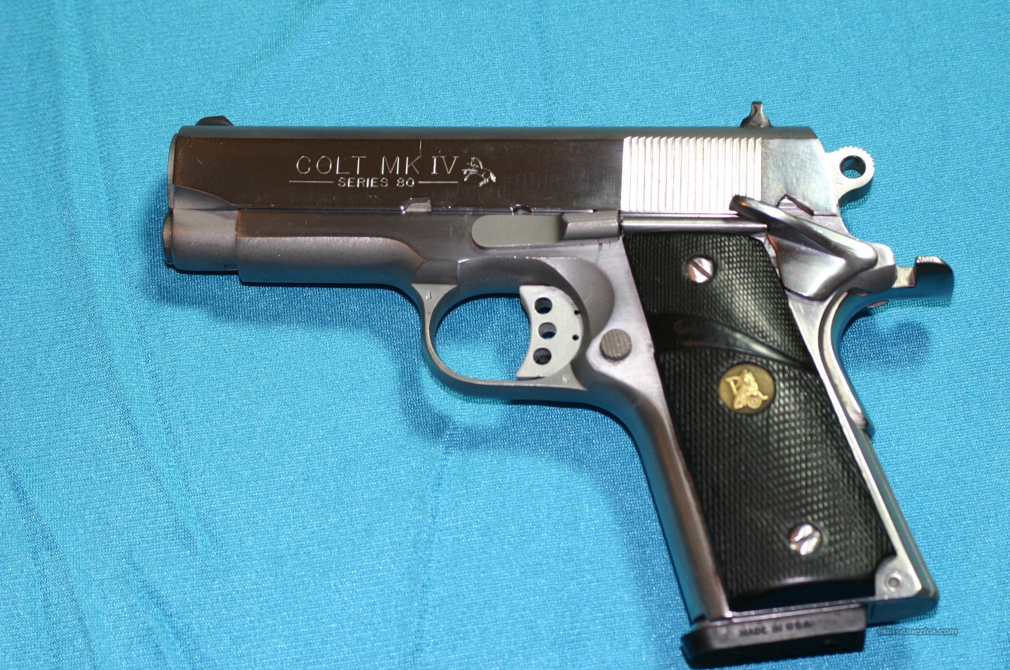 Colt mk iv series 80 serial number dating 3