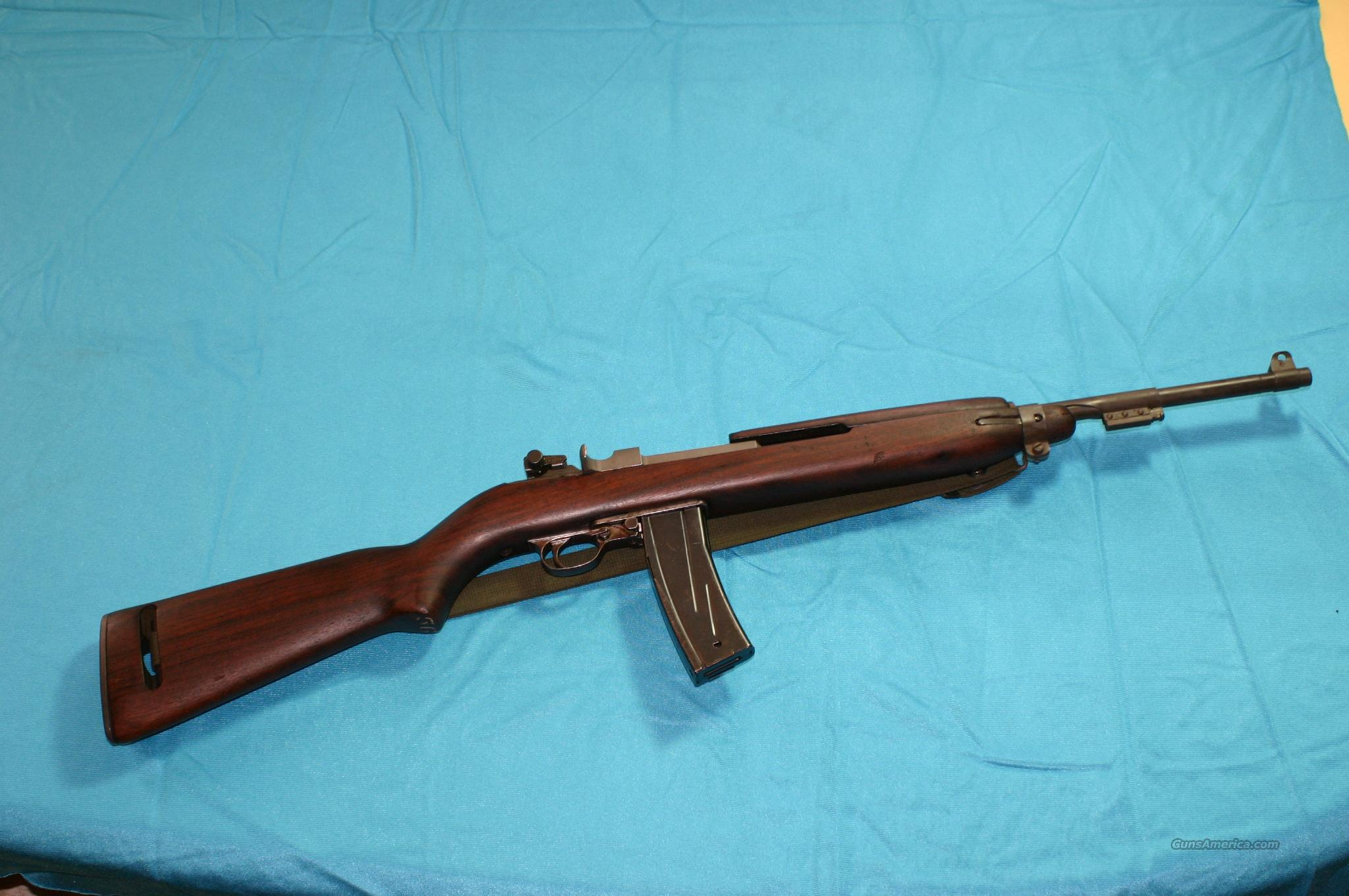 Inland M-1 Carbine 30 cal. Rifle with sling  Guns > Rifles > United States Patent Firearms Rifles