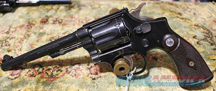 Smith & Wesson K-22 Outdoorsman 22 revolver  Guns > Pistols > Smith & Wesson Revolvers > Med. Frame ( K/L )
