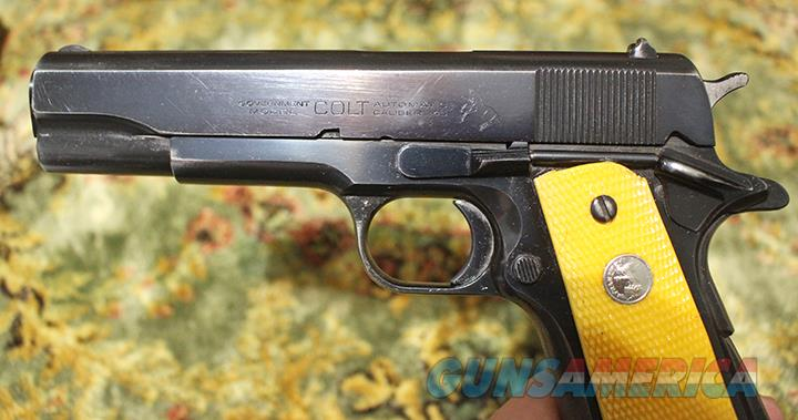 Colt Government model 45 AC  Guns > Pistols > Colt Automatic Pistols (1911 & Var)