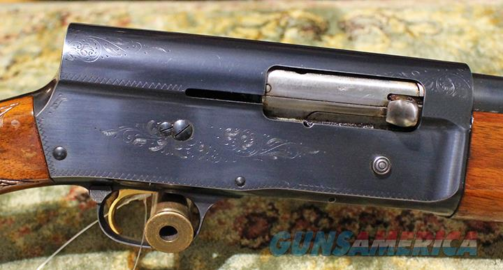 Browning A5 12 gauge shotgun  Guns > Shotguns > Browning Shotguns > Autoloaders > Hunting