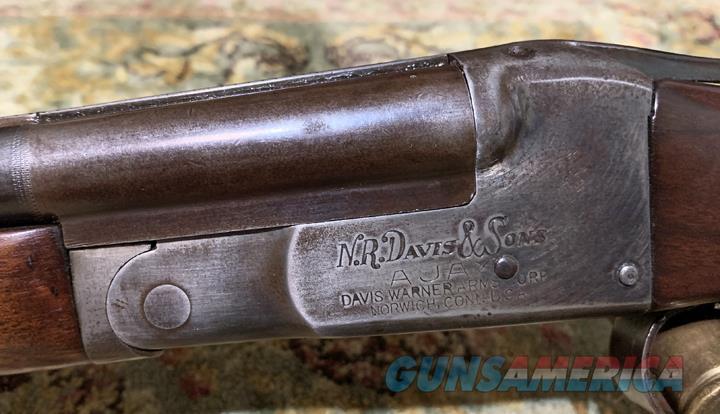 N.R. Davis 410 gauge S/S  Guns > Shotguns > Double Shotguns (Misc.)  > American