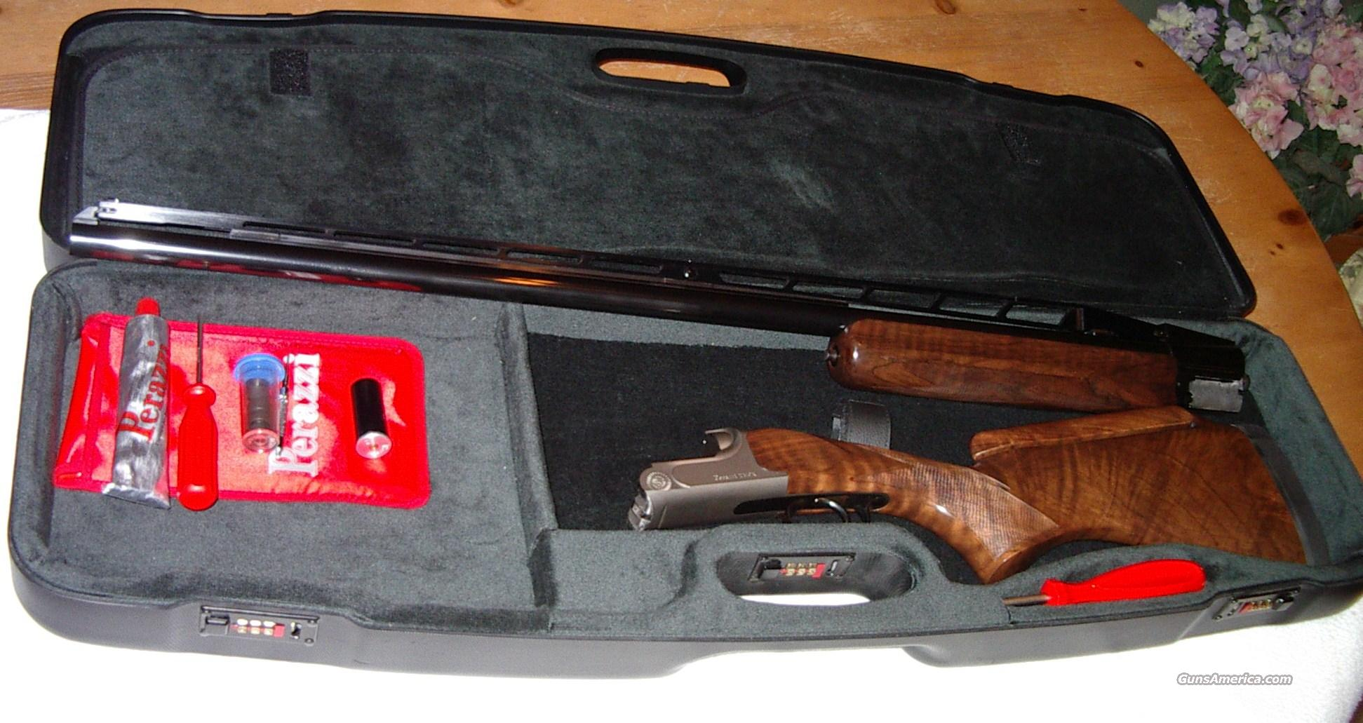 Perazzi TM9x 34 Single Barrel Trap Gun  Guns > Shotguns > Perazzi Shotguns