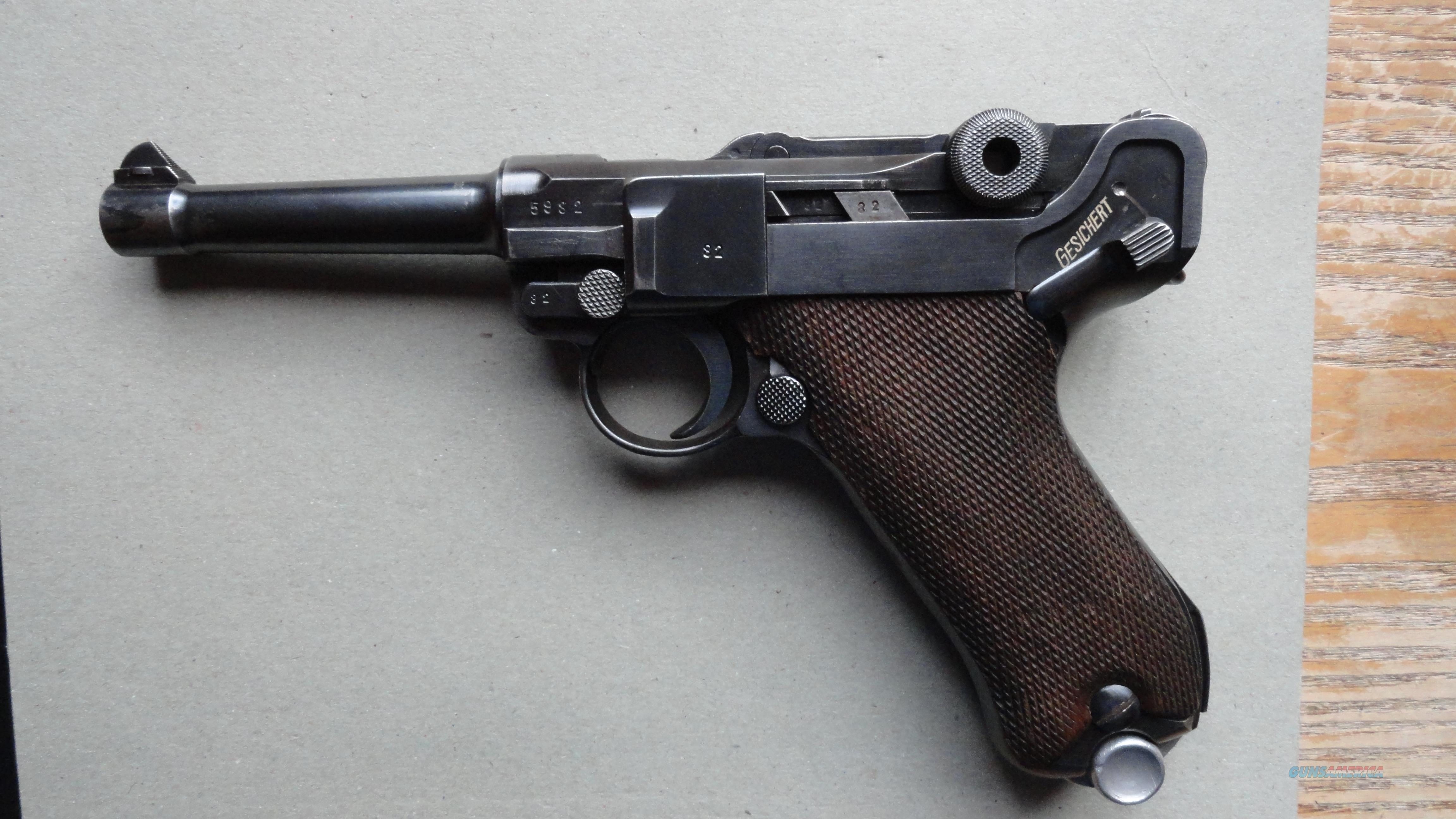 Luger S/42 Dated Chamber  Guns > Pistols > Luger Pistols