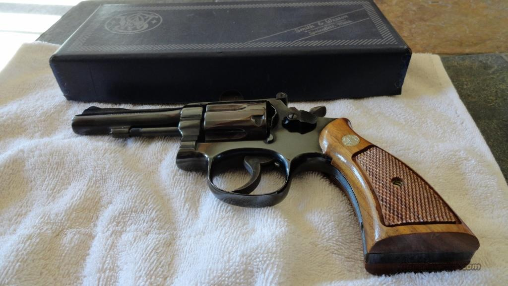 S & W Model 15-3  Guns > Pistols > Smith & Wesson Revolvers > Full Frame Revolver