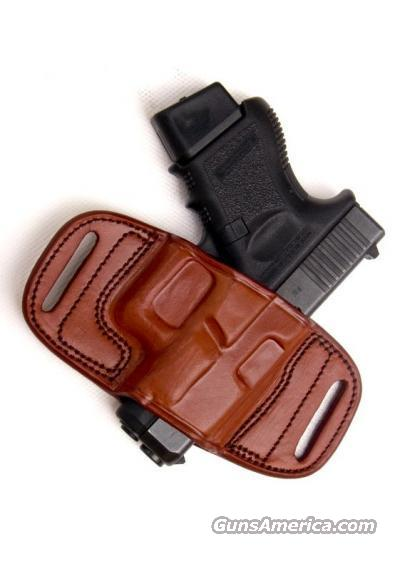 Tagua Quick Draw Belt Holster, RH, Brown  Non-Guns > Holsters and Gunleather > Concealed Carry