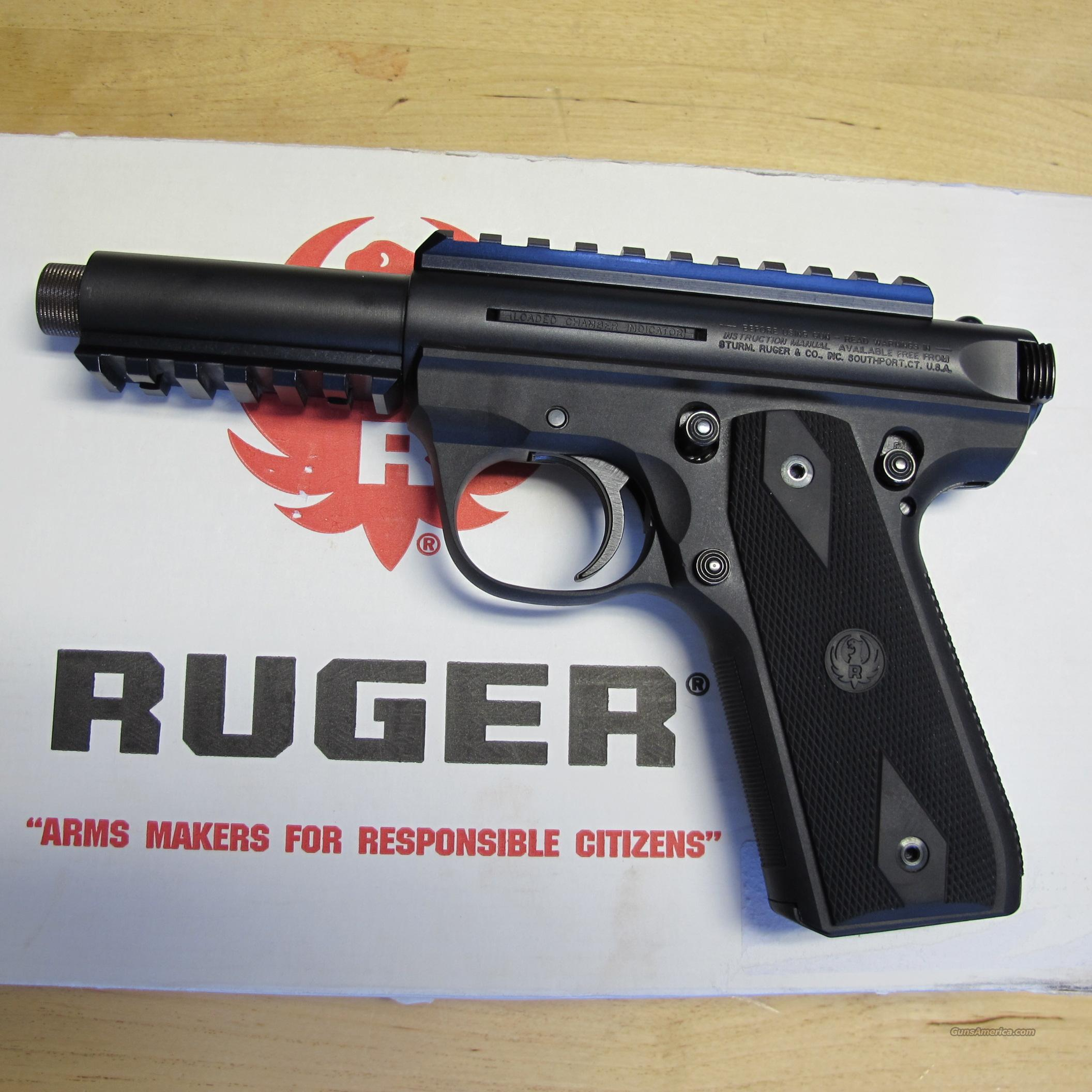 Ruger 22/45 MK III Threaded Barrel with Picatinny Rail (USED)  Guns > Pistols > Ruger Semi-Auto Pistols > Mark I & II Family