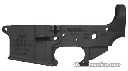 New DEL-TON AR15 Stippped Lower Receiver  Guns > Rifles > AR-15 Rifles - Small Manufacturers > Lower Only