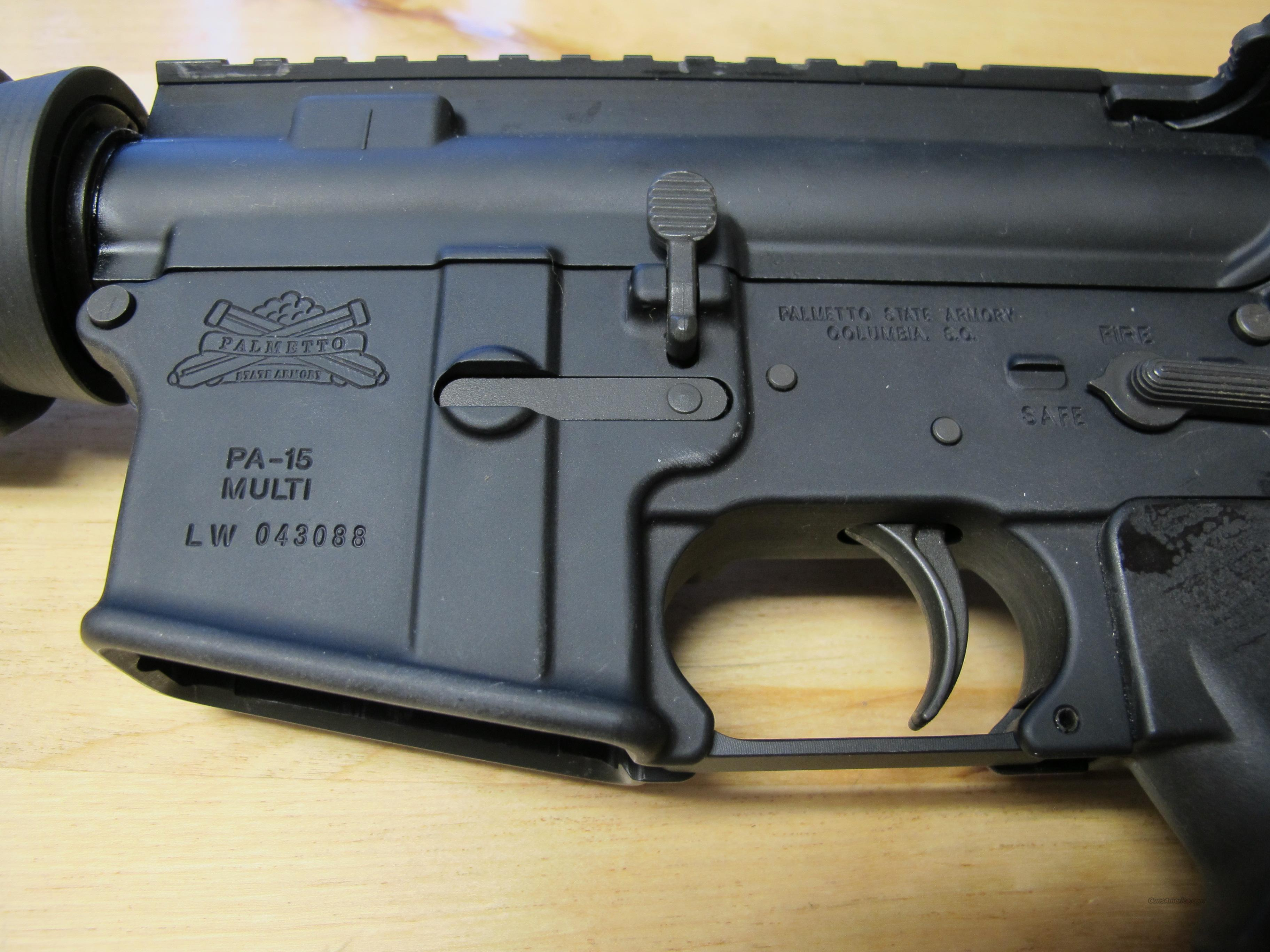 "PSA Palmetto State Armory PA-15 20"" *Used*  Guns > Rifles > A Misc Rifles"