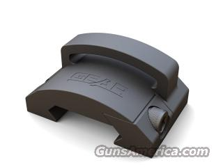 "Gear Sector Rail Mount 1"" Fixed Loop Black  Non-Guns > Gun Parts > M16-AR15"