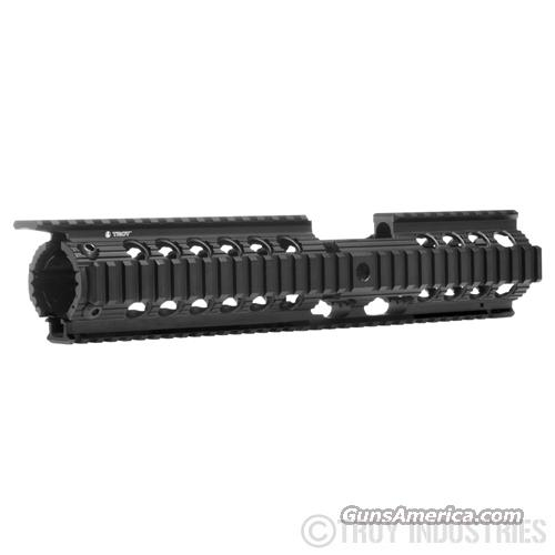 "Troy 12"" CHARLIE-CX Battlerail, Black  Non-Guns > Gun Parts > M16-AR15"
