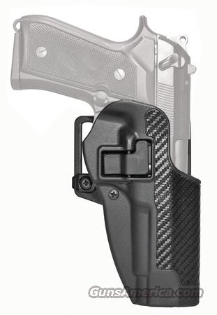 BLACKHAWK CQC Carbon Fiber Serpa Active Retention Holster Textured Black Right Hand For Beretta 92/96  Non-Guns > Holsters and Gunleather > Large Frame Auto