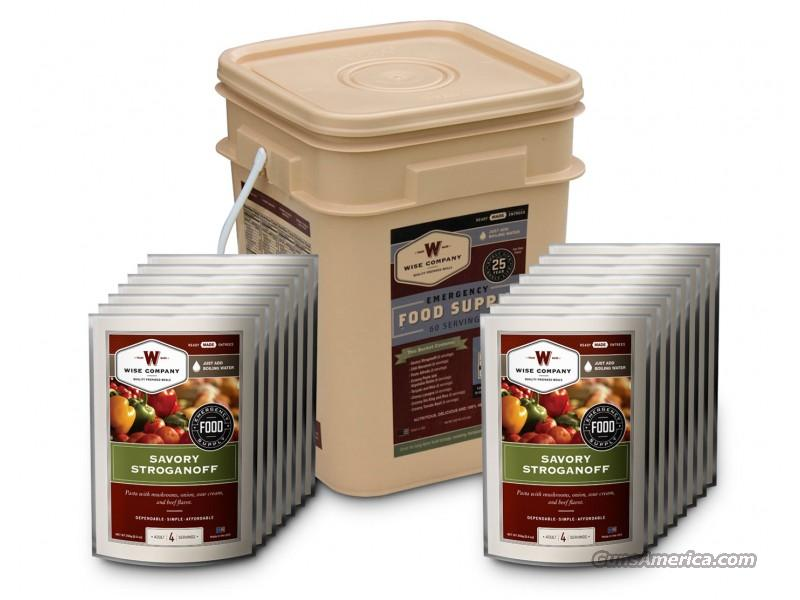 Wise Long Term Food Supply, 60 Meal buckets  Non-Guns > Miscellaneous
