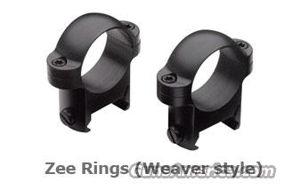Burris ZEE Rings High, Matte Finish  Non-Guns > Scopes/Mounts/Rings & Optics > Mounts > Traditional Weaver Style > Other