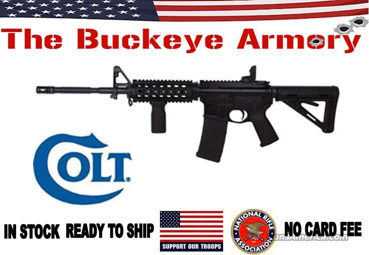 "COLT AR-15 .223 RIFLE 16"" BBL MAGPUL ACCY BLK  Guns > Rifles > Colt Military/Tactical Rifles"