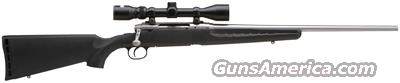 SAVAGE AXIS XP .30-06 PACKAGE S/S BLK SYN W/3-9X40MM  Guns > Rifles > Savage Rifles > Standard Bolt Action > Sporting