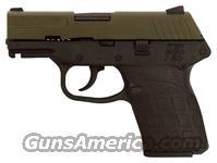 KEL-TEC PF9 9MM DA FS 7RDS GREEN SLIDE/BLACK GRIP  Guns > Pistols > Kel-Tec Pistols > Pocket Pistol Type