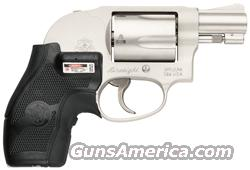 "S&W 638 .38SPL+P 1.875"" FS 5-SHOT SS W/CRIMSON TRACE GRIP  Guns > Pistols > Smith & Wesson Revolvers > Pocket Pistols"