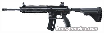 WALTHER H&K 416 .22LR RIFLE 20-SHOT BLACK  Guns > Rifles > Walther Rifles