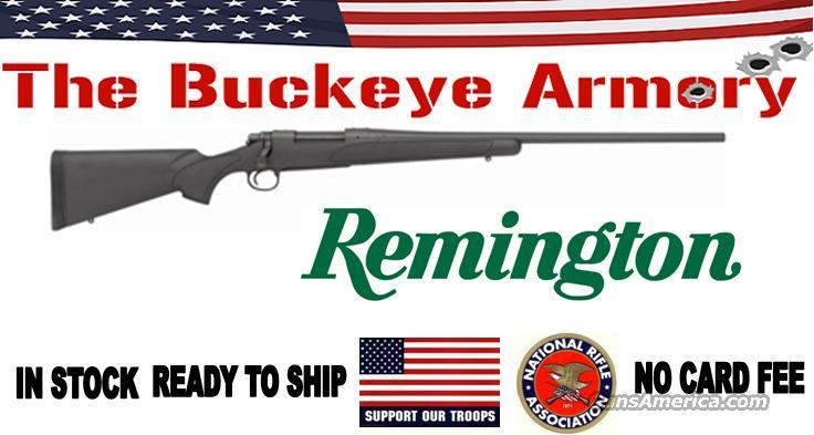 REMINGTON 700SPS SYNTHETIC .30-06 MATTE BLACK  Guns > Rifles > Remington Rifles - Modern > Model 700 > Sporting