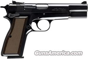 BROWNING HI POWER STANDARD 9MM LUGER AS 13-SHOT BLUED WALNUT  Guns > Pistols > Browning Pistols > Hi Power