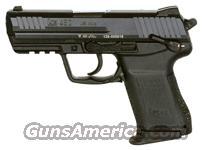 """HK HK45C COMPT V1 DA/SA 45ACP 3.90""""BBL 3-DOT FS 8RD BLACK  Guns > Pistols > Heckler & Koch Pistols > Polymer Frame"""