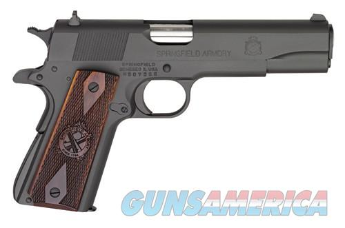 "SPRINGFIELD 1911 .45ACP MIL-SPEC 5"" FS 7-SHOT, two sets of grips  Guns > Pistols > Springfield Armory Pistols > 1911 Type"