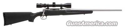 "SAVAGE AXIS XP .308 PACKAGE 22"" S/S BLK SYN W/3-9X40MM  Guns > Rifles > Savage Rifles > Standard Bolt Action > Sporting"