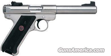 "RUGER MARK III TARGET .22LR 5.5"" BULL  Guns > Pistols > Ruger Semi-Auto Pistols > Mark I & II Family"