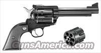 "RUGER BLACKHAWK CONVERTIBLE .45LC/.45ACP 5.5"" BLUED  Guns > Pistols > Ruger Single Action Revolvers > Blackhawk Type"
