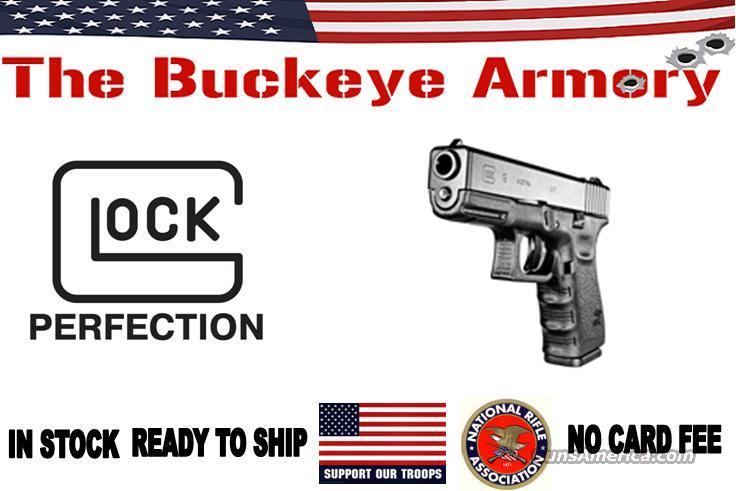 GLOCK 19 9MM FS 15-SHOT BLACK  Guns > Pistols > Glock Pistols > 19