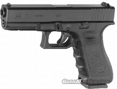 GLOCK 17 Gen3 9MM FIXED SIGHTS 17RD  Guns > Pistols > Glock Pistols > 17