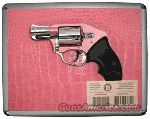 "CHARTER ARMS CHIC LADY .38SP+P OFF DUTY 2"" FS SS/PINK W/CASE  Guns > Pistols > Charter Arms Revolvers"