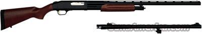 "MOSSBERG 535ATS COMBO 12GA 3.5"" 24""RS/28""VR BLUED HARDWOOD  Guns > Shotguns > Mossberg Shotguns > Pump > Sporting"