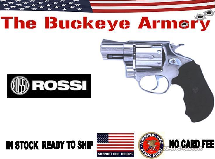 "ROSSI R462 .357 MAGNUM 2"" FS 6-SHOT STAINLESS  Guns > Pistols > Rossi Revolvers"