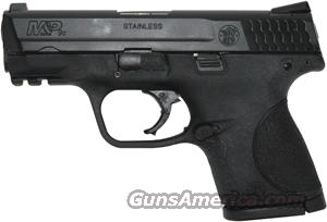 "S&W M&P9C COMPACT 9MM 3.5"" FS 12-SHOT BLACKENED SS/BLK POLY  Guns > Pistols > Smith & Wesson Pistols - Autos > Alloy Frame"